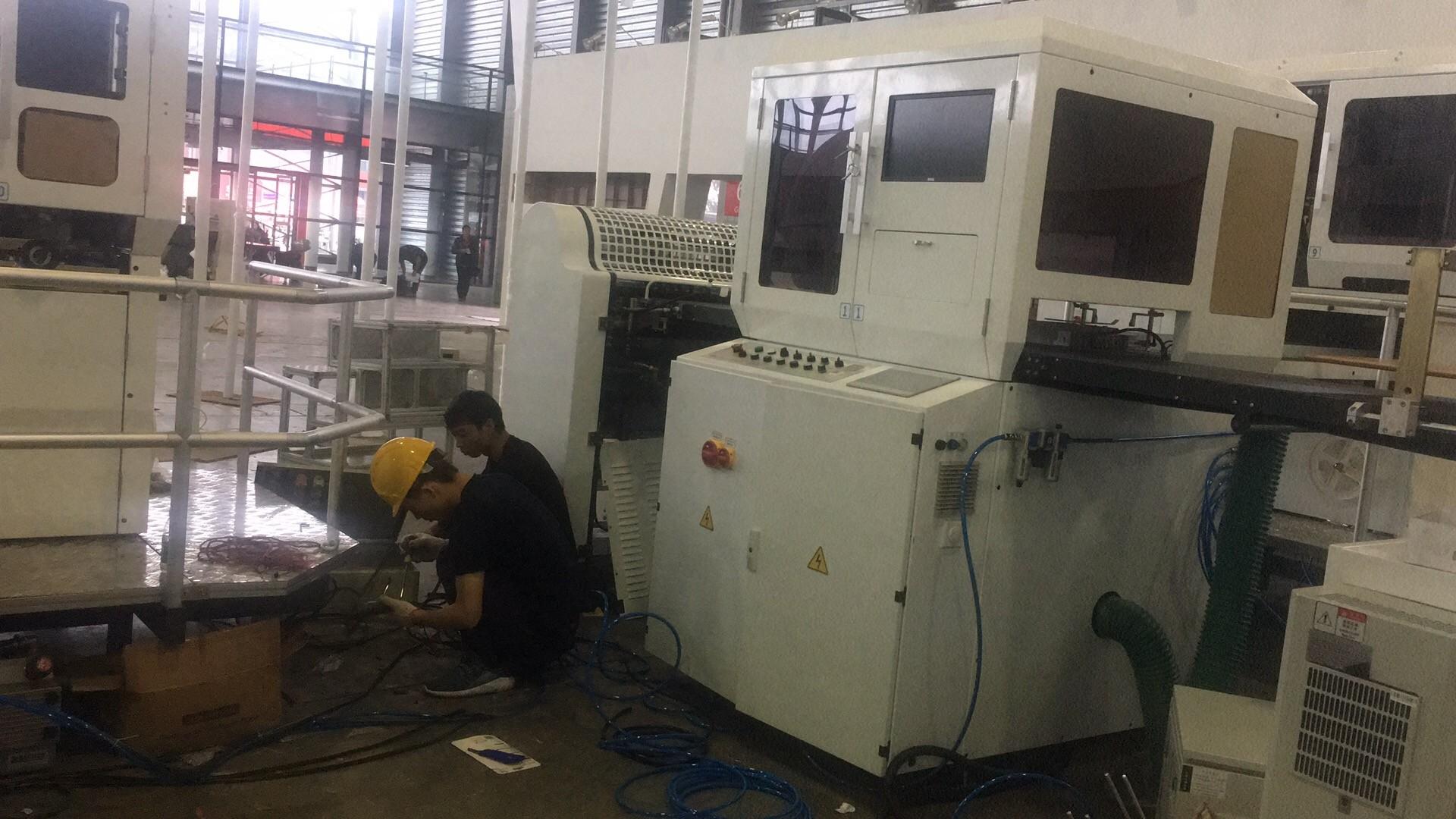 Rigid box making machine, Rigid box maker, Rigid box line